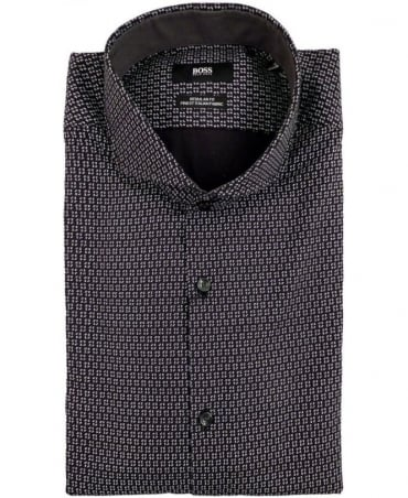 Hugo Boss Black 50298415 Lennie_2F All Over Pattern Shirt