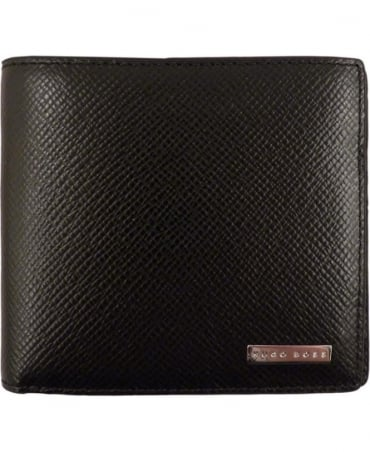 Black 50311737 Signature Leather Wallet