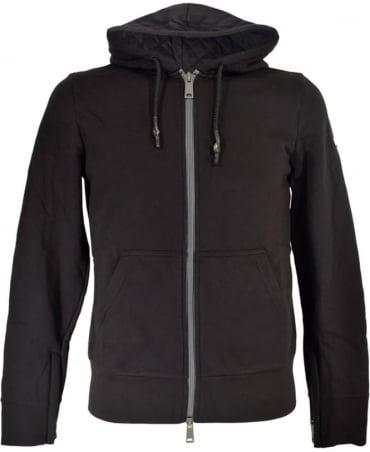 Armani Black 6X6M33 6JPAZ Hooded Sweatshirt