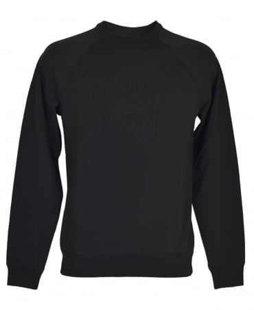 Black 6Y6M08 Crew Neck Sweatshirt