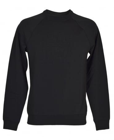 Armani Jeans Black 6Y6M08 Crew Neck Sweatshirt