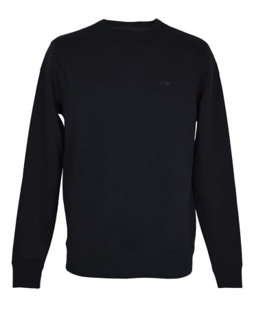 Black 8N6M19 Crew Neck Sweatshirt