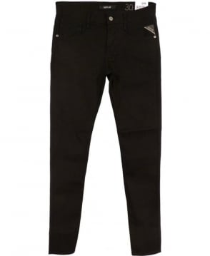 Replay Black Anbass 47307S Slim Fit Jeans