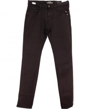 Replay Black Anbass Slim Fit Hyperflex Jeans