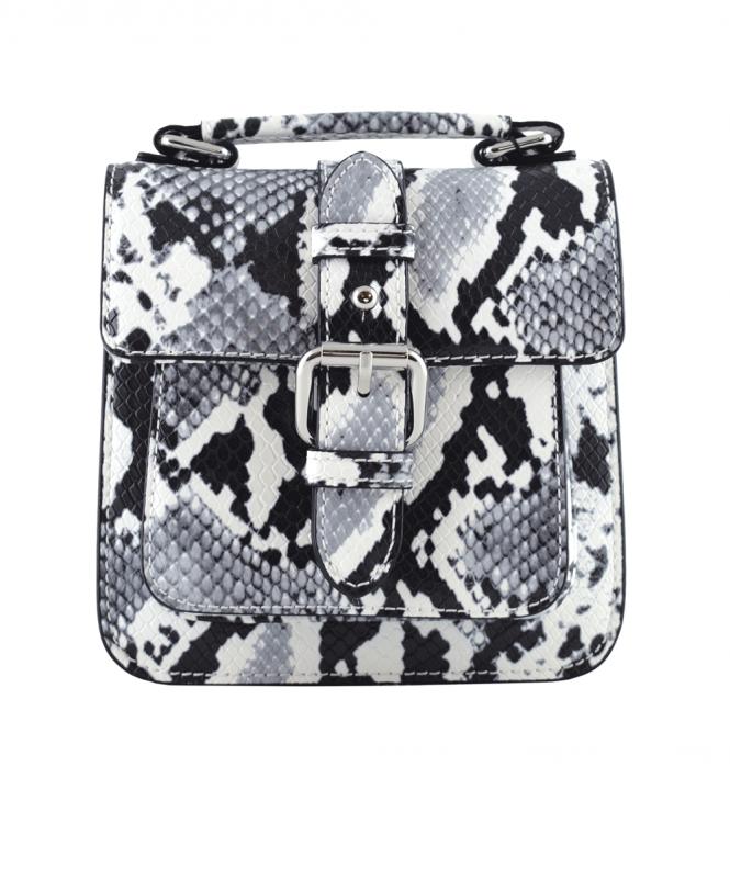 Armani Jeans Black and White Snake Print 922215 Bag - Bags from ... bdb9c56e5b150