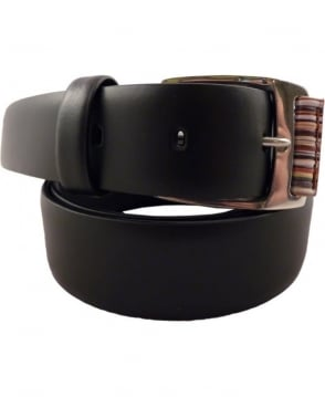 Paul Smith  Black APXA-4637-B615 Multi Roller 30mm Belt