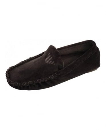 Black Armani 111400 Slippers