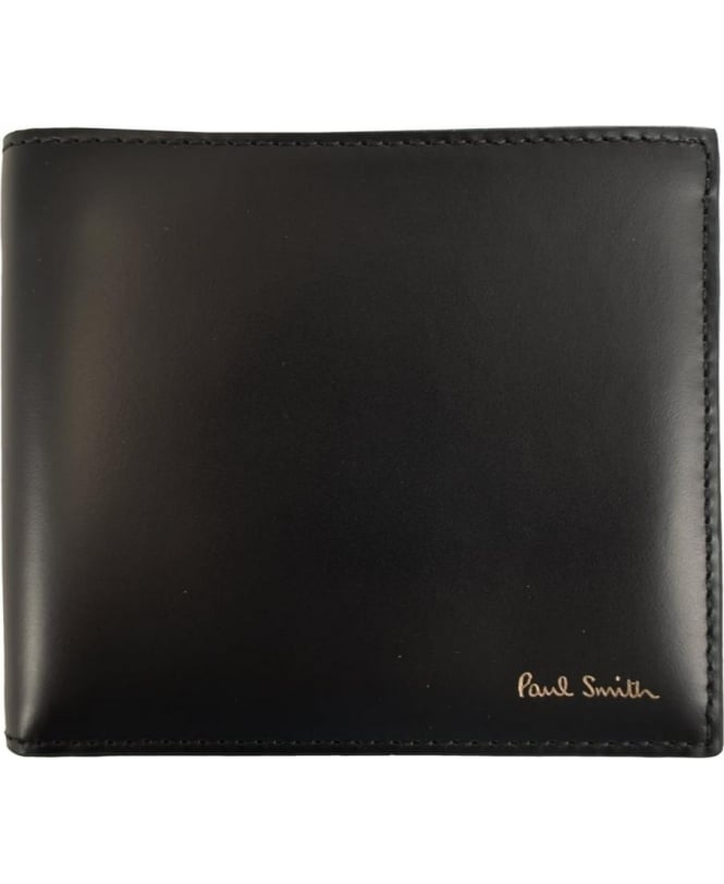 Paul Smith Black ARPC-4832-W780 Band Stripe Wallet