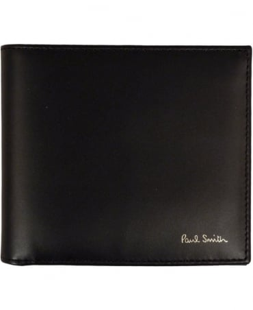 Paul Smith  Black ASXC-4832-W761 Signature Stripe Interior Wallet