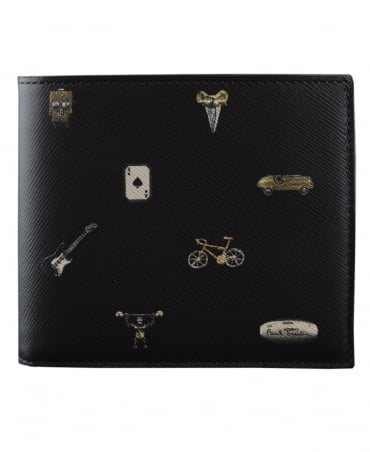 Paul Smith  Black ATXC-4832-W807 Billfold Wallet