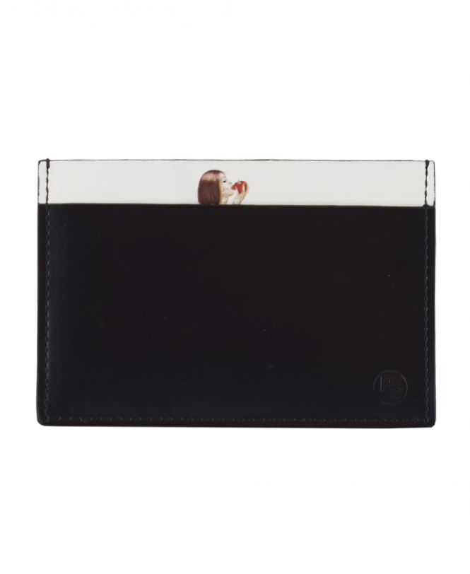 Paul Smith Black ATXD-4768-W851 'Naked Lady' Card Holder