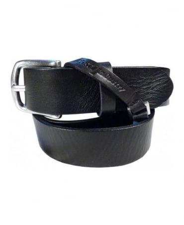 Diesel Black Benico Belt