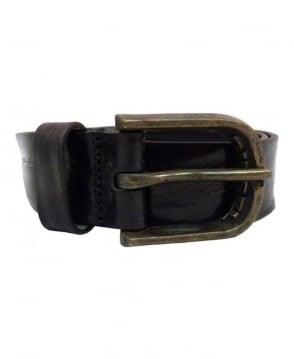 Diesel Black Bidiam Cintura 00S5FR Belt