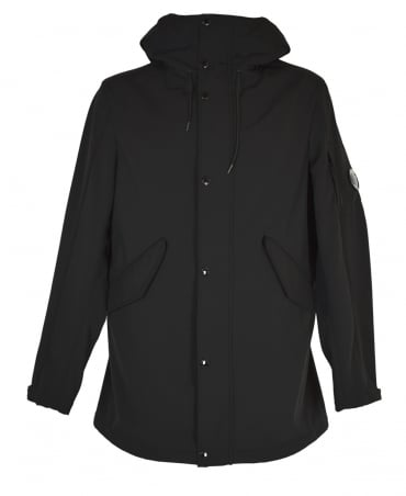 C.P. Company Black C.P. Shell Fishtail Parka
