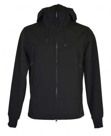 C.P. Company Black C.P. Shell Sweatshirt Jacket