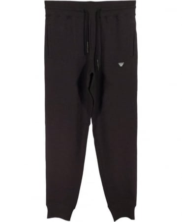 Armani Black C6P91FY Track Bottoms