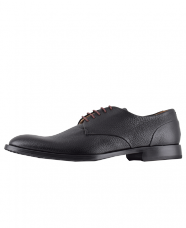 Black Chianni Derby Shoe