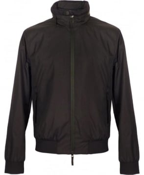 Armani Black Collezioni Harrington Jacket