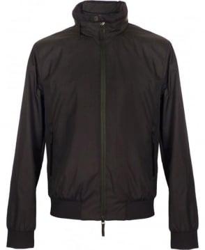 Armani Collezioni Black Collezioni Harrington Jacket