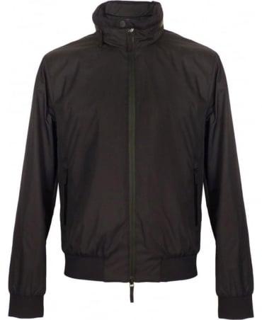 Armani Black Collezioni Harrington Jacket