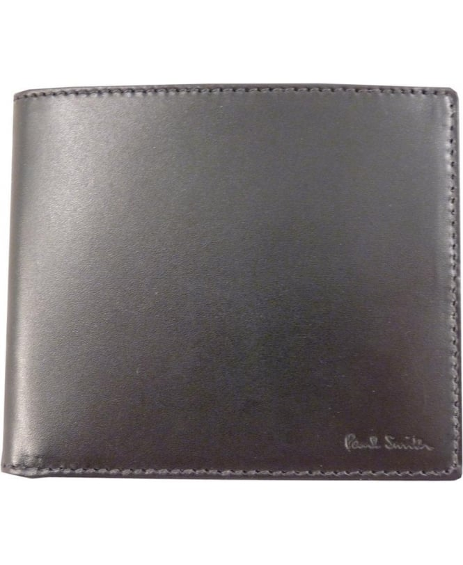 Paul Smith Black Colour Tipped Eight Card ANXA-1032-W728 Wallet