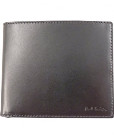 Paul Smith - Accessories Black Colour Tipped Eight Card ANXA-1032-W728 Wallet