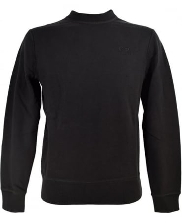 CP Company Black Crew Neck 0322300 Sweatshirt
