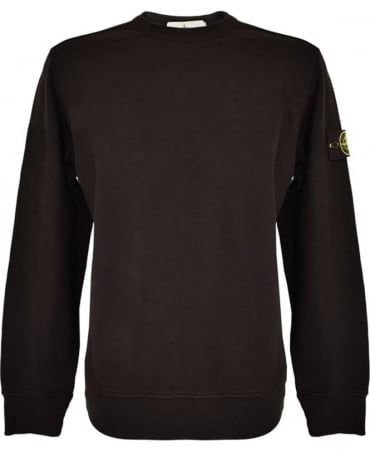 Stone Island Black Crew Neck 62720 Sweatshirt