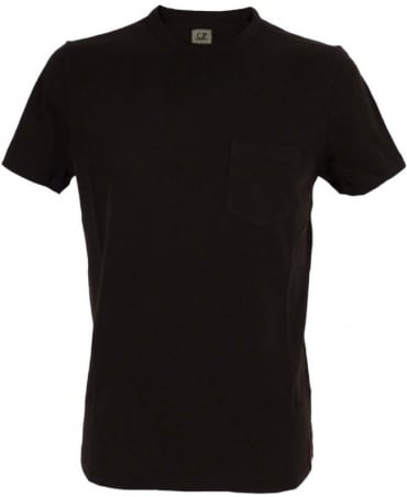 CP Company Black Crew Neck H02082 T/Shirt
