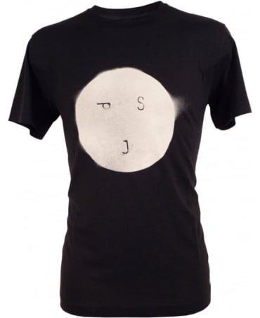 Paul Smith - Jeans Black Crew Neck P8954 'Smiley' T-Shirt