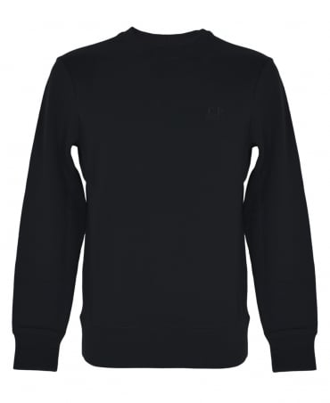 C.P. Company Black Crew Neck Sweatshirt