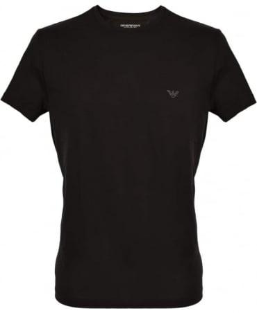 Emporio Armani  Black Crew Neck T-Shirt