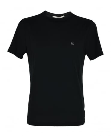CP Company Black Crew Neck T-Shirt