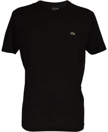 Lacoste Black Crew Neck TH5275 T-shirt
