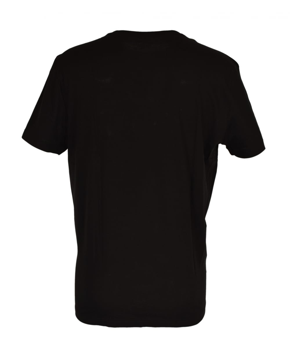 Lacoste Black Crew Neck Th5275 T Shirt Lacoste From