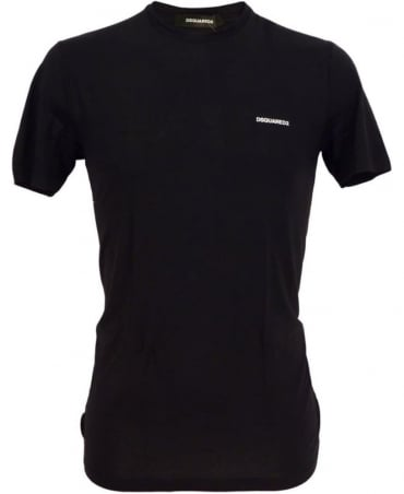 Dsquared2 Black D9M200760.11014 Crew Neck T-shirt