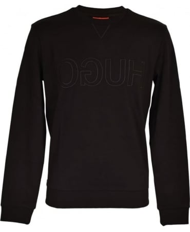 Hugo Black 'Dapone' Sweatshirt