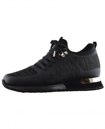 Mallet Black Diver Contrast Shoes