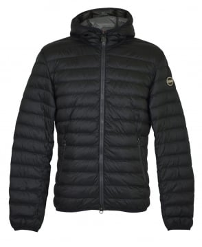 Colmar Originals Black Down Padded Hooded Jacket