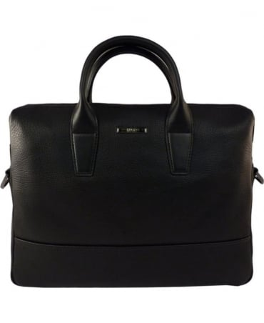 Black Element_S Doc 50316866 Grained Leather Bag
