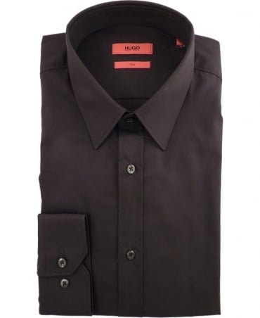 Hugo Black Elisha01 50291326 Slim Fit in Black