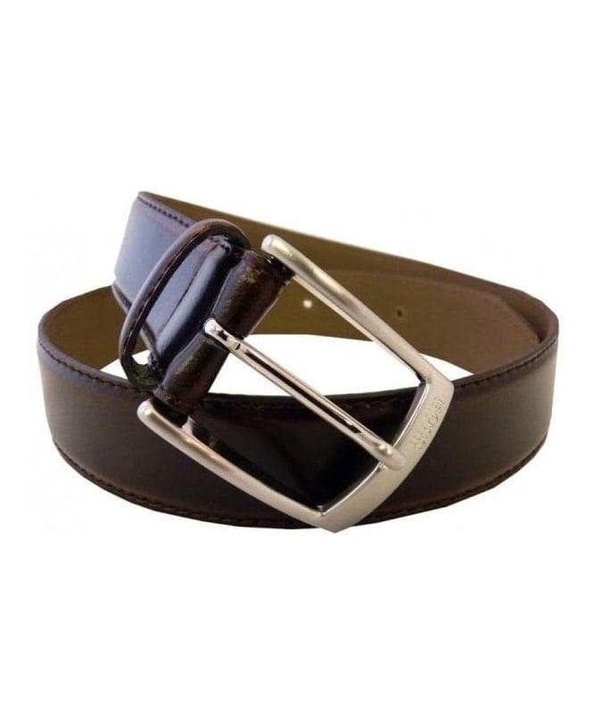 Hugo Boss Black Esily Embossed Logo Belt