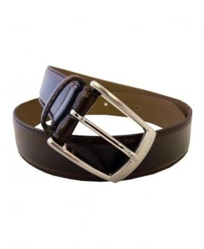 Hugo Boss Black Esily Embossed Logo Belt