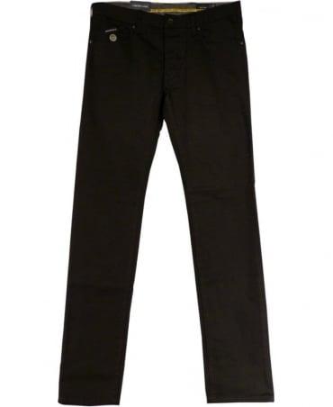 Armani Black Extra Slim Fit Low Waist J20 Jeans