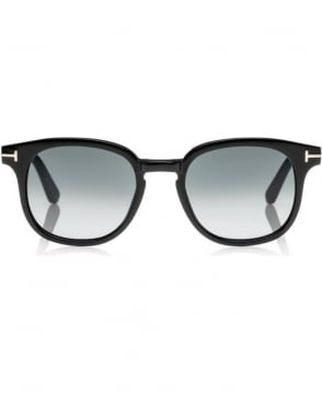 Tom Ford Black Frank Soft Squared Sunglasses