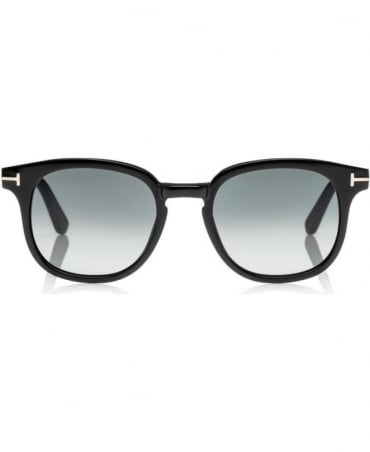 Tom Ford Black Frank Soft Squared Sunglasses