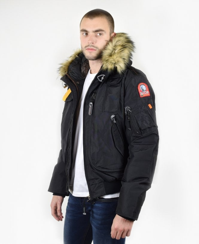 Jonathan Bomber Black Eco Outerwear Parajumpers Jacket From Gobi ta07Hqwqx
