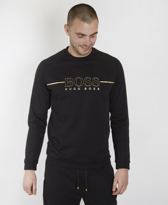 Hugo Boss Black Gold Crew Neck Logo Tracksuit 50396886