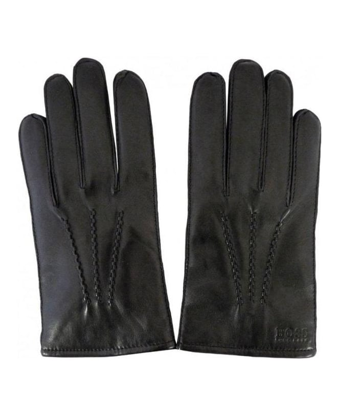 Hugo Boss Black Haindt Leather Gloves 50237108