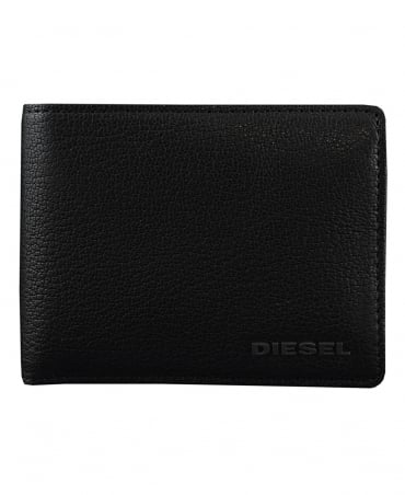 Diesel Black Hiresh Leather Wallet